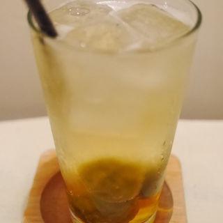 洋子の梅ジュース ソーダ割り(PUBLIC KITCHEN cafe 吉祥寺店 (パブリック キッチン カフェ))