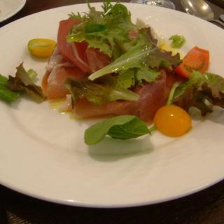 生ハムのサラダ(Ristorante YAMANOE)