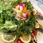 カラダとアタマのアンチエイジングとろさば燻製と緑黄色野菜のトレビアン美人サラダ