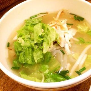 鶏肉のフォー(SAIGON Vietnam Cafe)