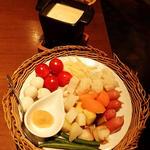 【チーズ代表】4種チーズと西京味噌のクワトロチーズフォンデュ