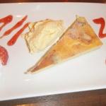 4種チーズのクワトロ ベイクドチーズケーキ
