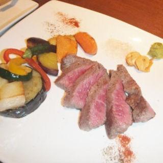 北薩摩牛の岩塩ステーキ(SAIKA 銀座店 (サイカ))