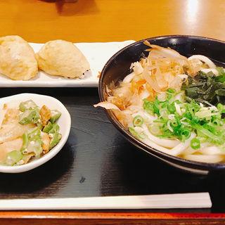 ランチセット うどん定食(讃岐麺房 すずめ )