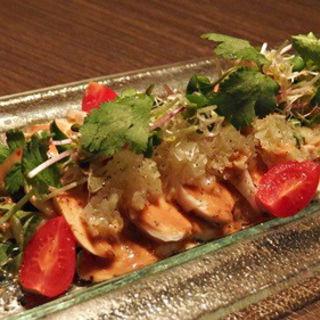 棒棒鶏サラダ(SHARI THE TOKYO SUSHI BAR)