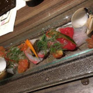 魚のカルパッチョ(SK7 (さかな))
