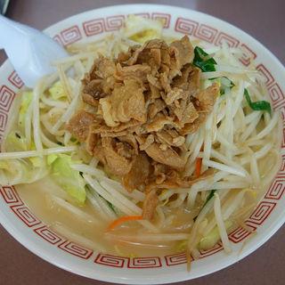 鶏白湯スープの煮干しらーめん(SLつけ麺 津田沼店 (エスエルツケメン))