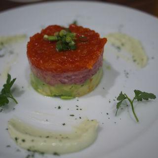 マグロとアボカドのタルタル(Steak&Italian Griante)