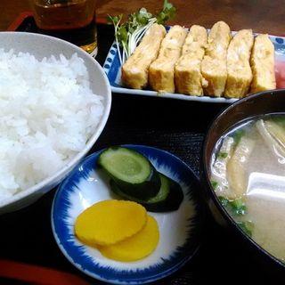 玉子焼定食(TAISEI)
