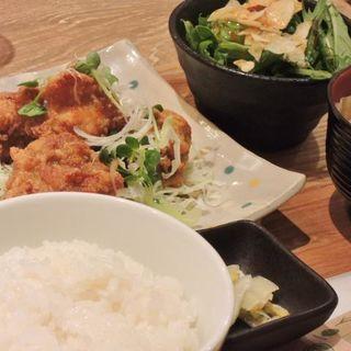 ザンギ定食(虎屋菓寮 横浜そごう店 (とらやかりょう))