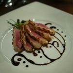 フランス産鴨肉のソテー熟成バルサミコソース