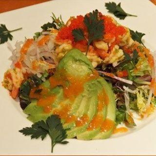 ベイビーシュリンプ・サラダ(tcc Café & Restaurant)