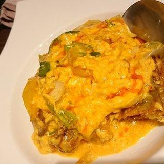カニと玉子のカレー炒め(プーニム・パッポン・カリー)(THAIFOOD DINING&BAR マイペンライ )