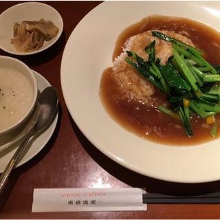 フカヒレあんかけごはん(VEGE CHINA 南国酒家 新宿店 (ベジチャイナ・ナンゴクシュカ))