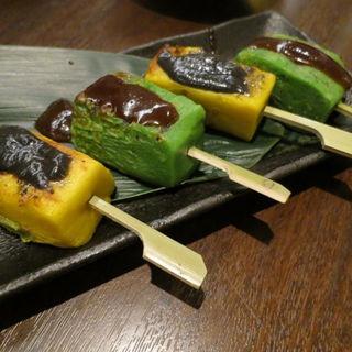 生麩田楽 2種の味噌(WARAIYA (ワライヤ))