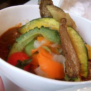 野菜カレーラン(white dish)