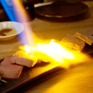極 炙りレバー(博多牛臓 福岡博多筑紫口店)