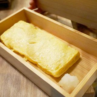 韓国のりとチーズの出汁巻き玉子(博多牛臓 福岡博多筑紫口店)