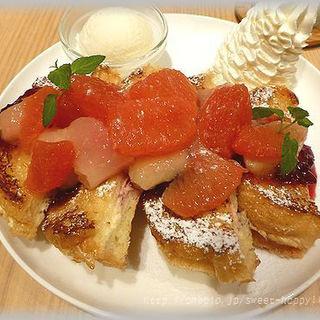 フレンチトースト ピーチ(アイボリッシュ 渋谷店 (Ivorish))