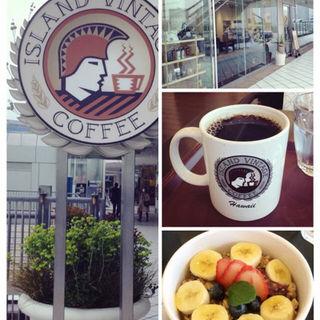 アサイーボール(アイランド ヴィンテージ コーヒー 横浜ベイクオーター店 (Island Vintage Coffee))