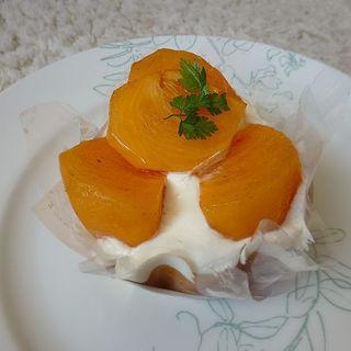 柿のロールケーキ(あさひや )