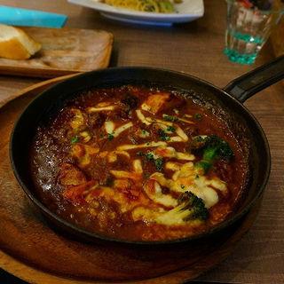 ランチ(焼きカレー)(アズーロ ヴェルドゥーラ (azzurro verdura))