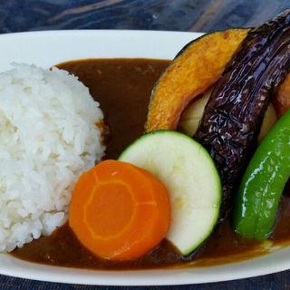 野菜カレー(あぜ道より道ファームレストラン)