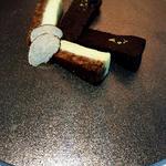トリュフのチーズケーキとガトーショコラ