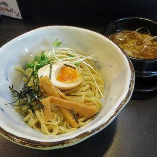 鶏葱和風醤油つけ麺(ありがたいが )
