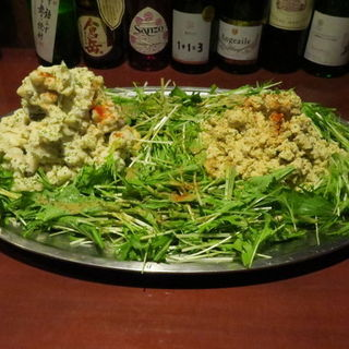 自家製ポテトサラダ、アルスのおから(アルス 南青山 (ars minamiaoyama))