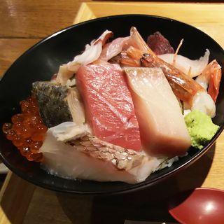 三陸海鮮丼(奥州ろばた センダイエキ天海 )