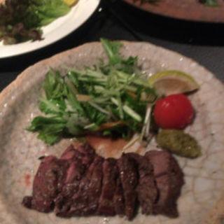 牛サガリ炙り焼き(あんざ 天神店 )