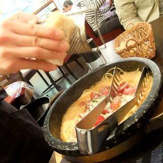 石焼きチーズパスタセット(アンジェロ&ミカエル)