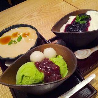 抹茶のアイス(あんぷく 虎ノ門ヒルズ店 )