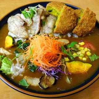 特大カレー(イートイット 羽倉崎店 (Eat it))