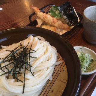 天ざるうどん(いけや食堂 )