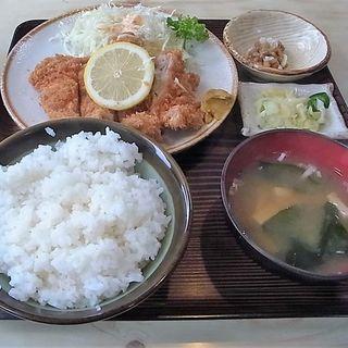 チキンカツ定食(いさかや )