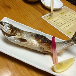 桜鱒の塩焼き(いち善 )