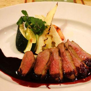 鴨胸肉のロースト ポルト酒のソース(イル メルカート アンジェロ )