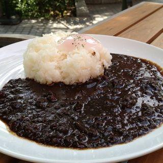 特製黒キーマカレー(ウィラーエクスプレスカフェ (WILLER EXPRESS CAFE))