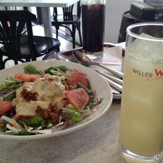 野菜たっぷりヘルシータコライス(ウィラーエクスプレスカフェ (WILLER EXPRESS CAFE))