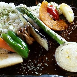 野菜カレー(ウッディ・ライフ )