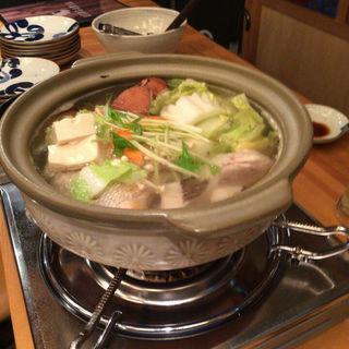 鯛の美酒鍋(ウトガリア)