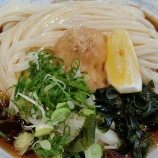 基本のぶっかけうどん 冷(うどん小屋 柔製麺)