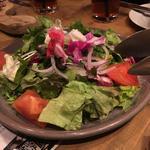 オーガニック野菜のガーデンサラダ