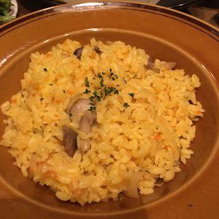 ガーリックバターライス(BOCOCA steak&Dine)