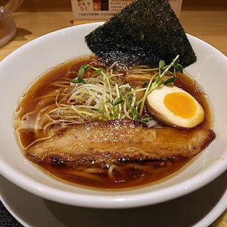 うまい醤油らー麺 並(うまい麺には福来たる 西大橋店)