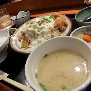 チキン南蛮定食(うまや キャナルシティ店)