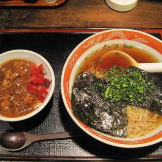 のりラーメン&カレー丼(えびす亭 )