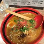 えびしょうゆ太麺(えびそば一幻 新千歳空港店 (いちげん))